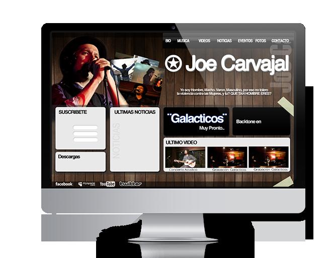 pagina web para musicos