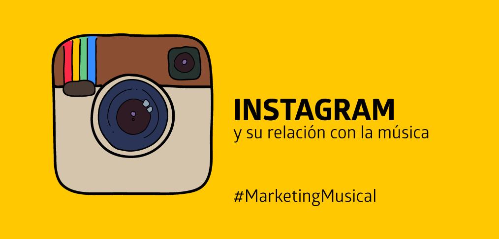 Instagram y su relación con la música